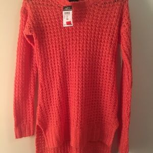 SM high/low sweater NBW